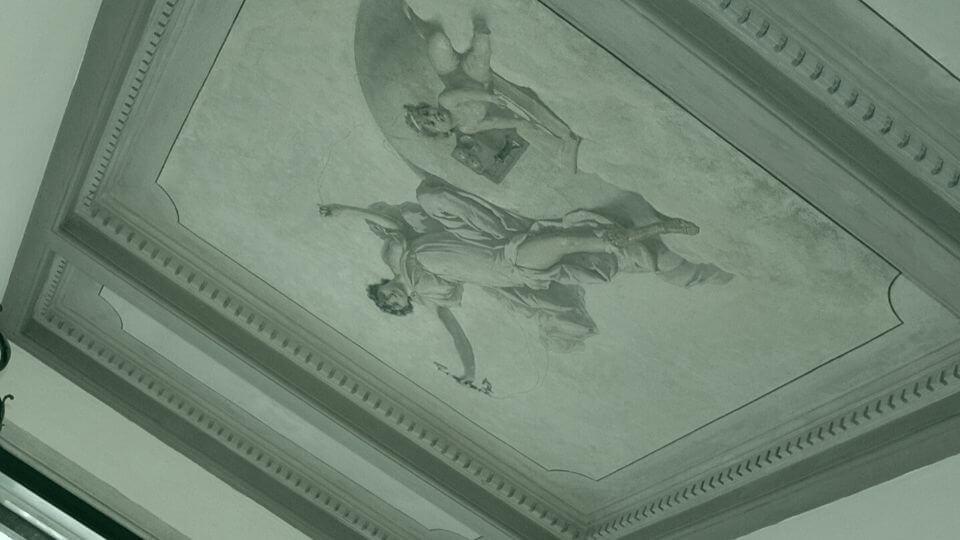 Generali via Confienza Torino - Soffitto